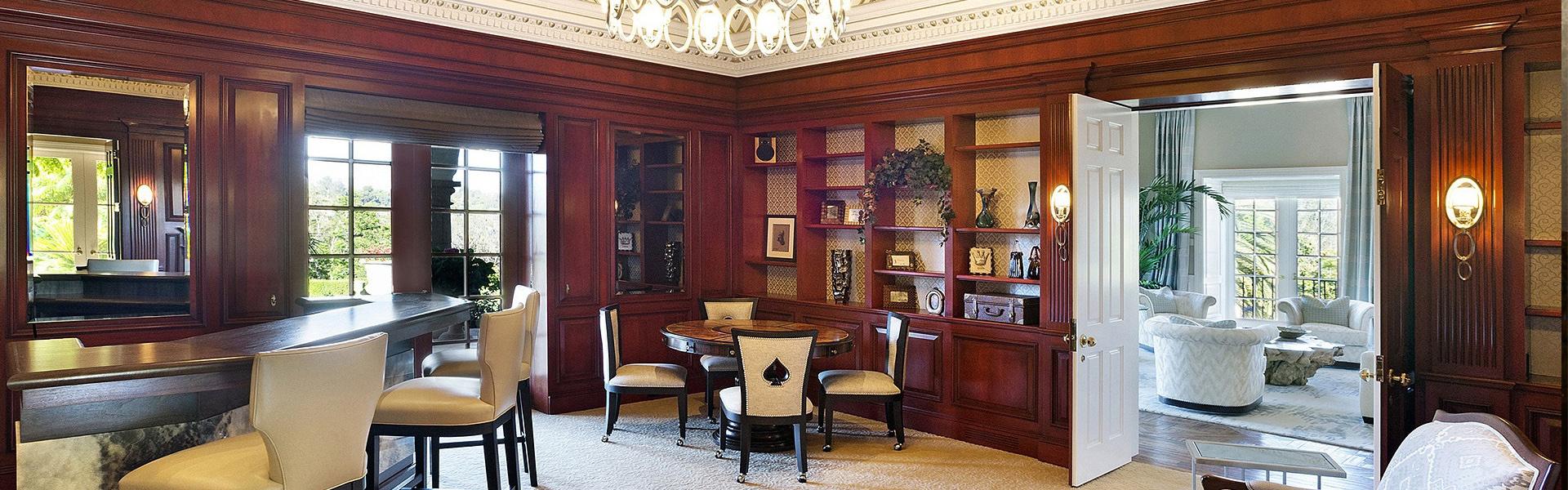 木工卧室书柜效果图